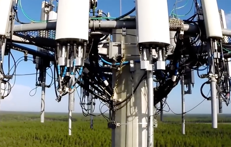 Cellular Tower Drone